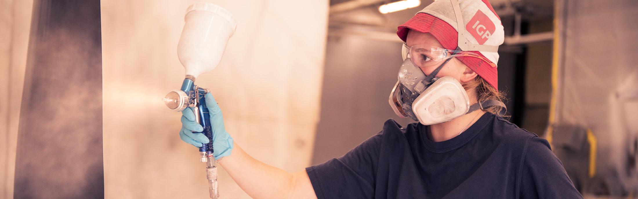 Nasslackierung, Werkstücke schützen, Beschichtungspartner
