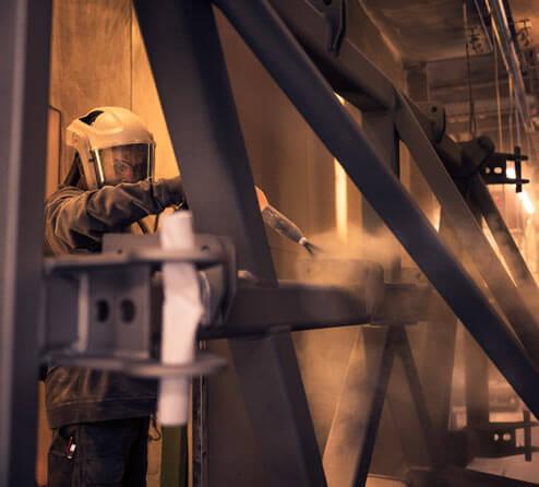 b+p AG, Beschichtungspartner, Stahl- und Aluminiumkonstruktionen