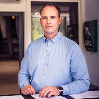 Herr Pirmin Wallimann, Leiter Kompetenzcenter